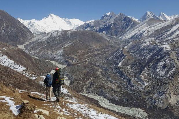 Dans la vallée Khumbu.