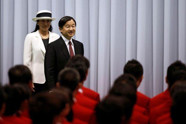 La princesse Masako et le prince Naruhito du Japon à Tokyo, le 3 juillet 2016