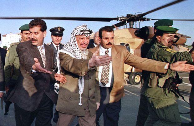Arafat en 1997 à Gaza.