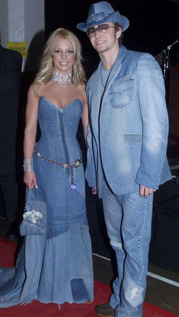 Britney Spears et Justin Timberlake en 2001