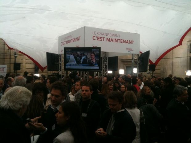Rue de Solférino Salle de presse-