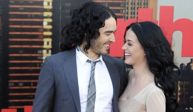 Russell Brand et Katy Perry -