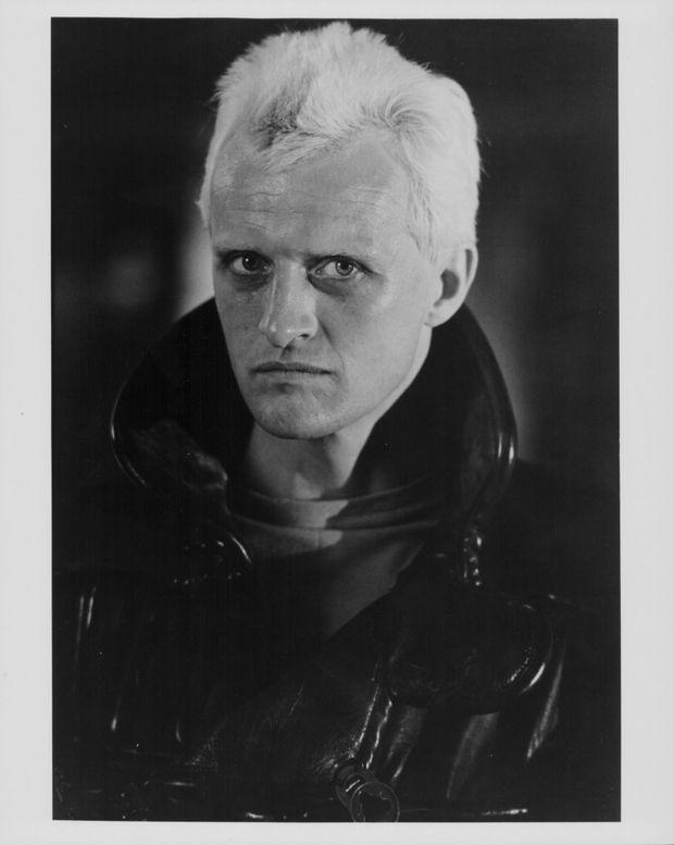 Rutger Hauer dans la peau de Roy Batty, le terrifiant et bouleversant androïde du film «Blade Runner», réalisé par Ridley Scott en 1982.