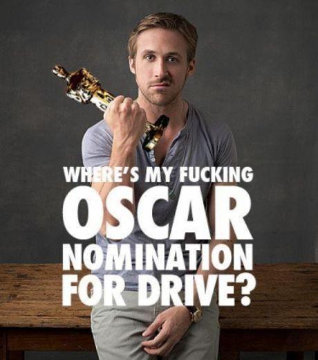 Ryan Gosling Oscar 2012-