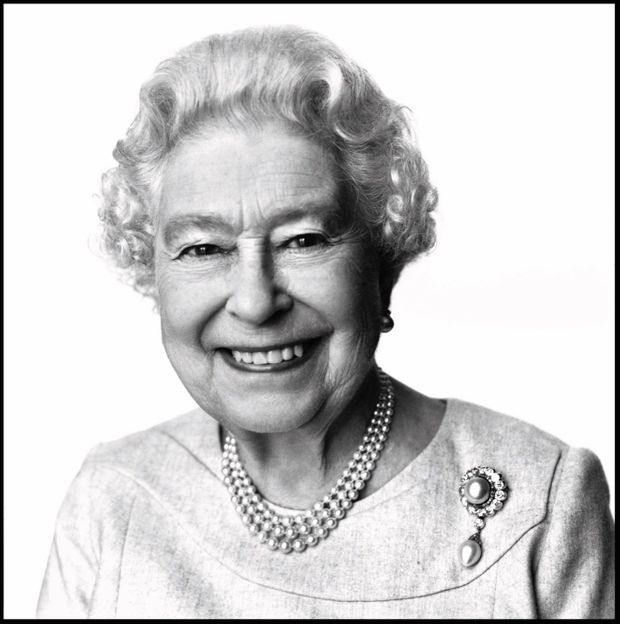 «Sa Majesté la reine Elizabeth II », 2014.