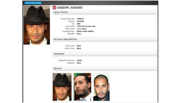 Saadi Kadhafi-