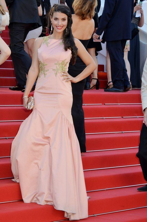 Ludivine Sagna lors du festival de Cannes 2015.