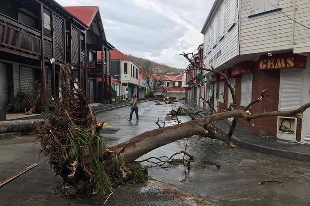 Les dégâts sont très importants sur Saint-Barth'