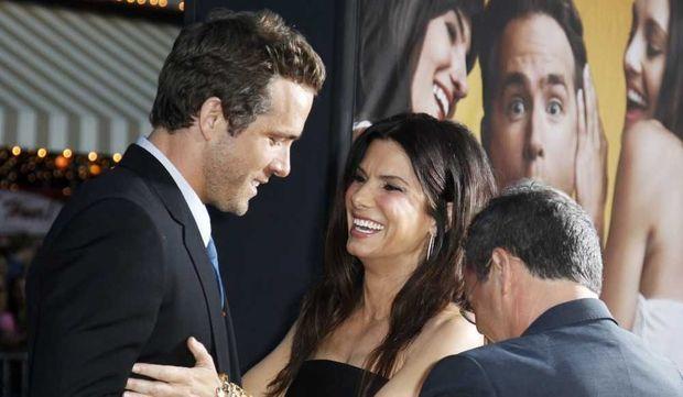 Sandra Bullock et Ryan Reynolds-