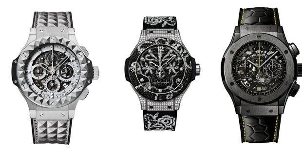Trois montres Hublot dont les ambassadeurs sont des stars..