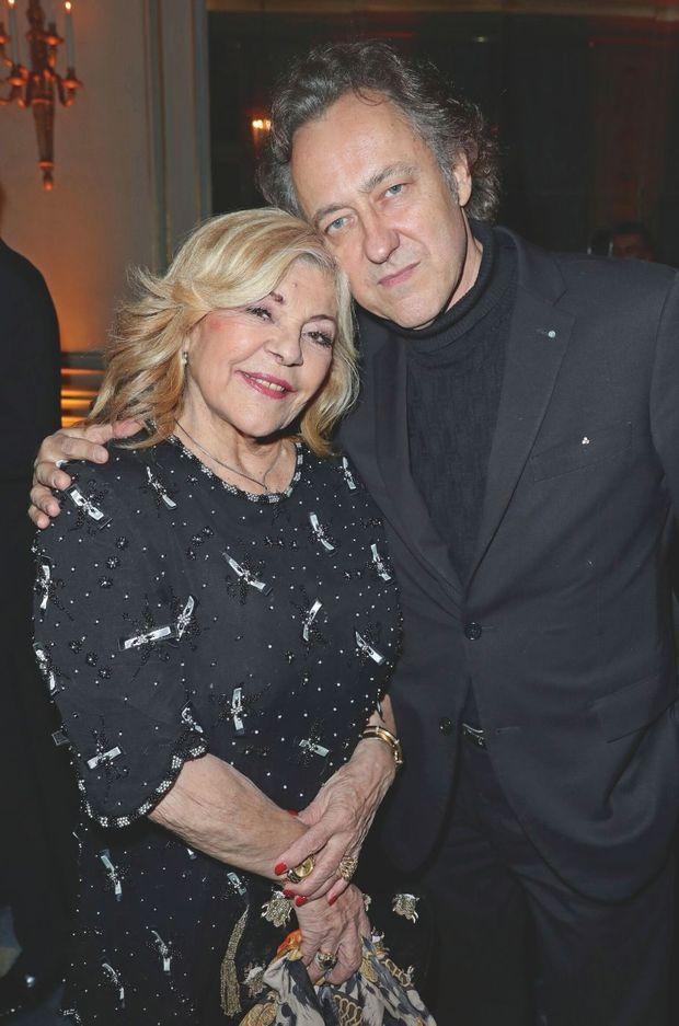 Nicoletta et son mari, Jean-Christophe Molinier, qu'elle a épousé en 2010.