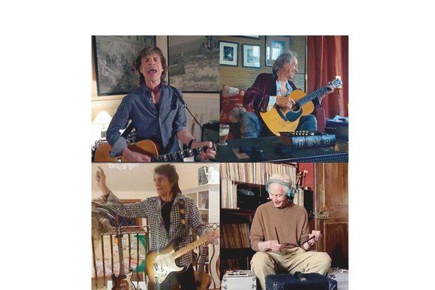 Chacun chez soi, mais tous ensemble : avec Keith Richards, Ron Wood et Charlie Watts, le 18 avril, Mick chante « You Can't Always Get What You Want » pour le concert de charité « One world : Together at Home. » L'ancienne résidence du duc de Choiseul est la propriété de Mick Jagger depuis 1980. Les travaux de rénovation ont été estimés à 3 millions d'euros. 2