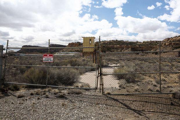 La mine a été fermée en 1982. Pour l'heure, le site n'est toujours pas entièrement dépollué.