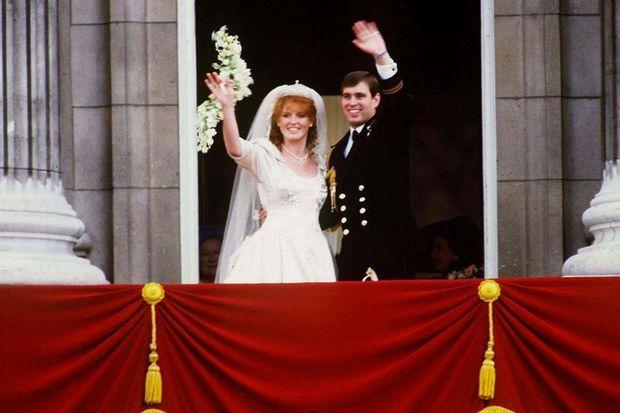 Sarah Ferguson et le prince Andrew, duc et duchesse d'York, se mariaient le 23 juillet 1986