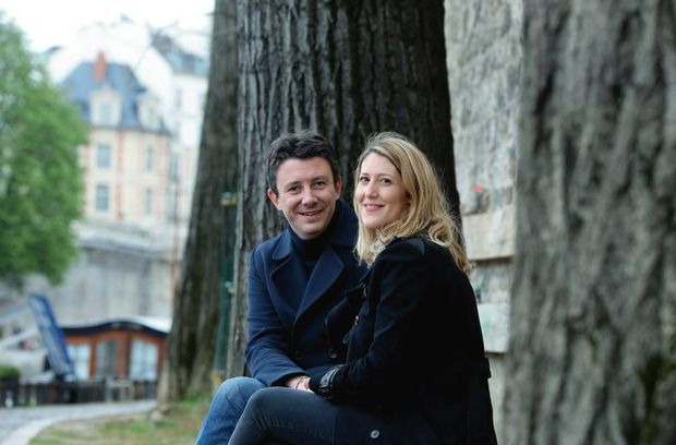 Julia Minkowski et Benjamin Grivaux le 5 avril 2019.