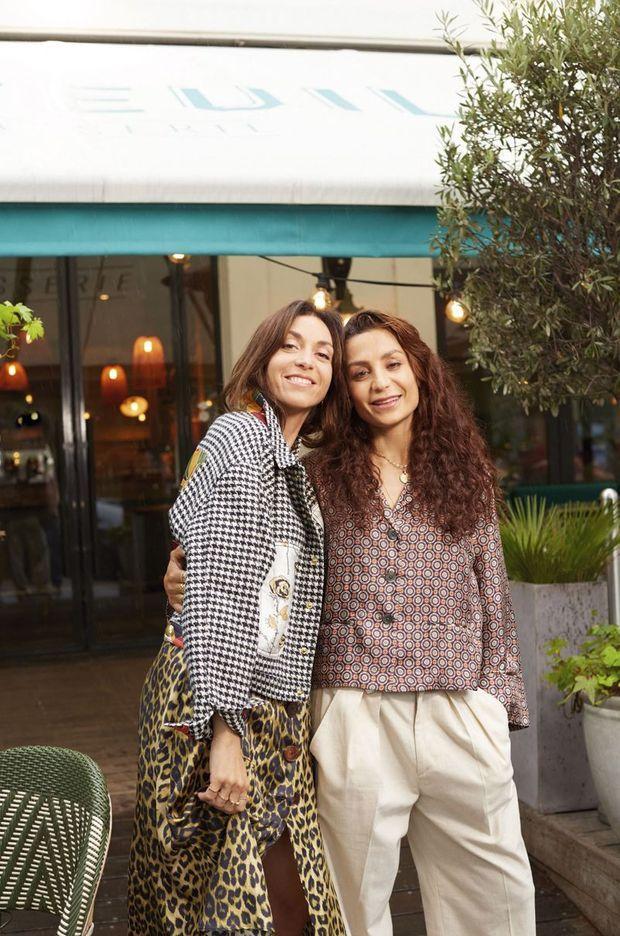 """Avec la réalisatrice Anissa bonnefont qui l'a suivie pendant un an et demi. """"Nadia"""", documentaire inédit diffusé le 6 octobre à 21 heures sur Canal+ et sur MyCanal."""