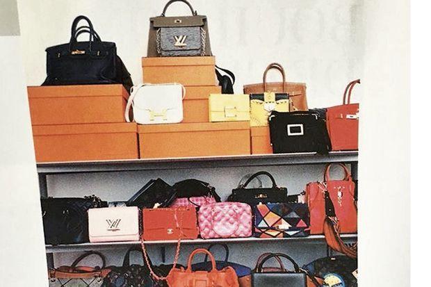 Camille Seydoux adore les sacs...