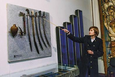 La plupart des musées d'Ukraine conservent leur cachet soviétique. Avec gardiens zélés sur les talons des visiteurs