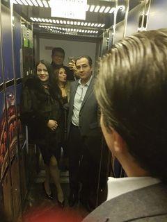 Senda, 32 ans, et Dali, 46 ans (au premier plan), Ghalia, 30 ans, et Issam.