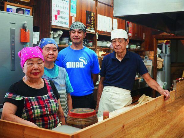 Le restaurant de Sumiko où elle travaille en famille