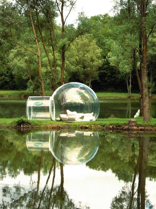BubbleTree utilise des solutions écologiques : puits canadien, voilage d'ombrage, écran thermique...