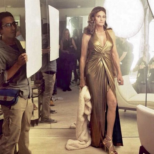 "La séance photo de Caitlyn pour ""Vanity Fair"""