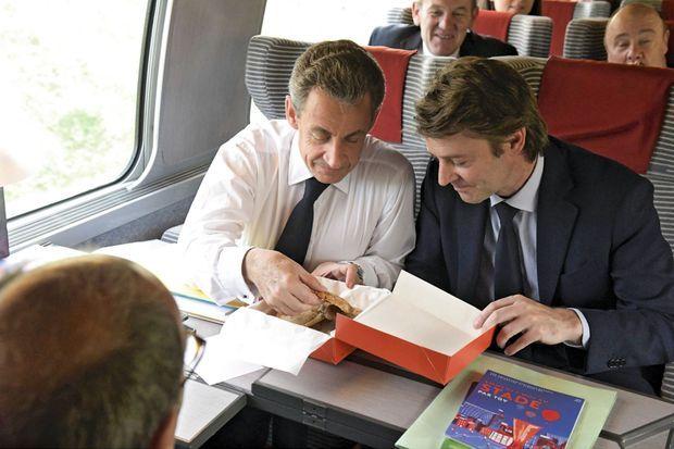 Déjeuner complice en route pour Lille, le 8 juin.