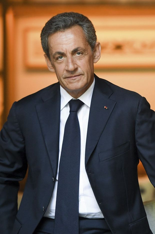 A Paris, chez lui, juste avant d'inuagurer son QG de campagne rue de l'Université, dans le VIIe arrondissement, mardi 23 août.