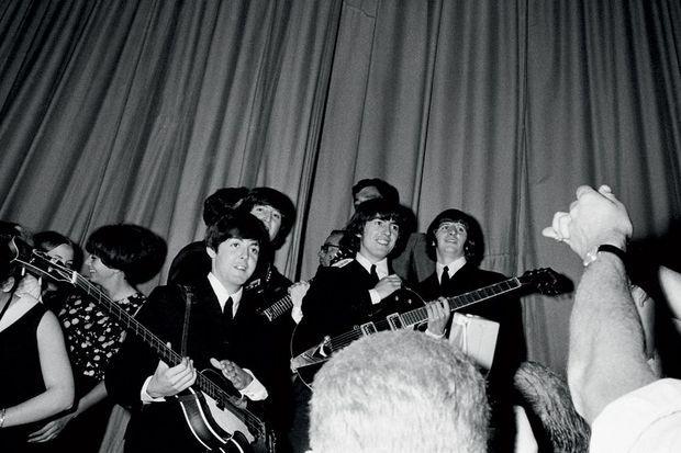 Au temps des Beatles.