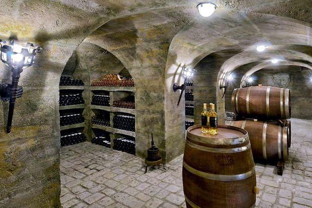 Une cave à vin pour grands crus exclusivement.