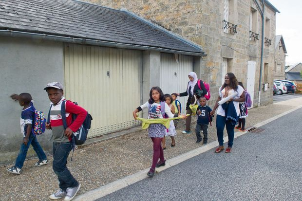 Le 4 septembre, la diversité en marche sur le chemin de l'école.