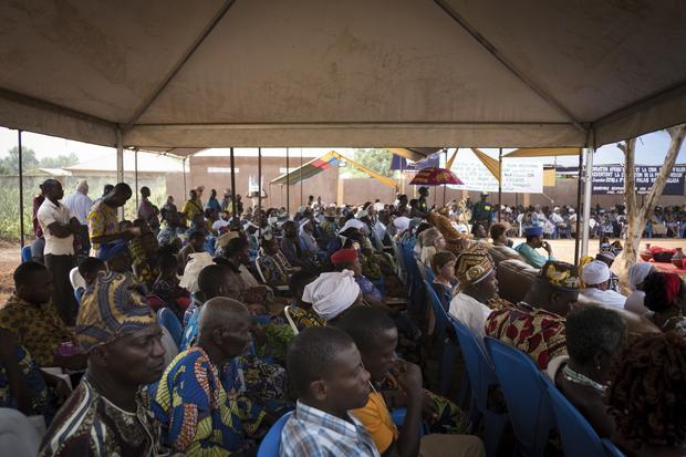 Adeptes et touristes réunis à Allada pour l'ouverture du Festival du vaudou.