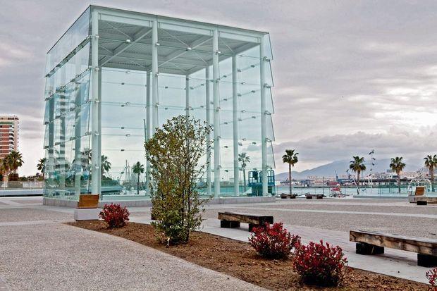 Cette antenne provisoire du Centre Pompidou s'installe en Andalousie.