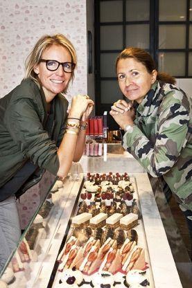 Muriel Tallandier et Julie Mathieu, les fondatrices, dans leur boutique