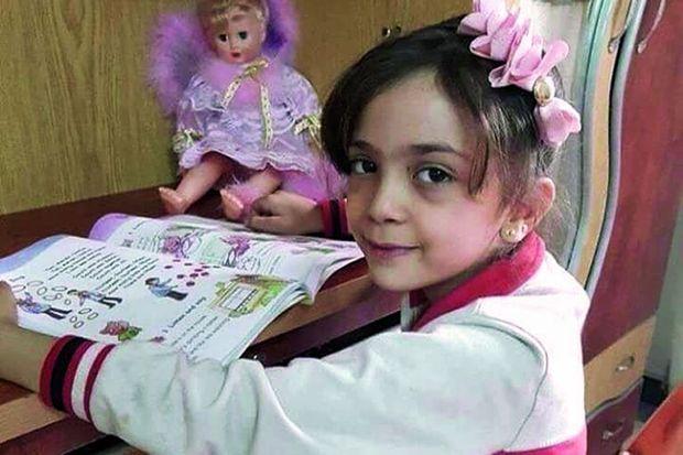 Bana, 7 ans, l'icône des quartiers martyrs d'Alep-Est.