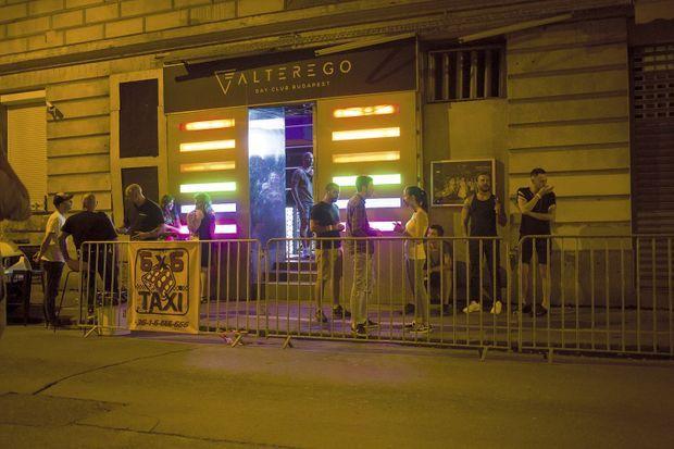 En plein centre de Budapest, le club Alterego est l'un des lieux de rendez-vous de la communauté gay.