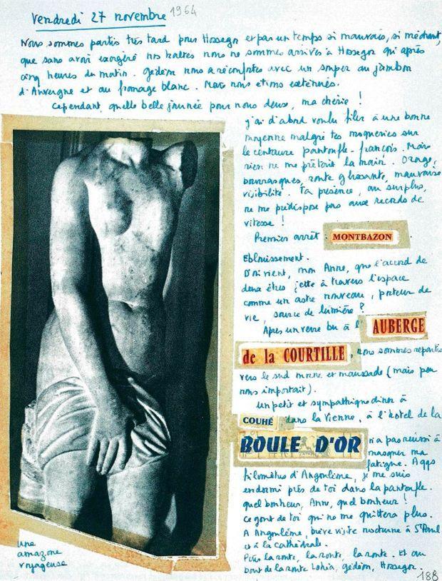 Vendredi 27 novembre 1964 « Nous sommes partis très tard pour Hossegor. »