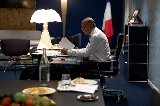 Après un tête-à-tête avec le secrétaire d'Etat américain John Kerry, vendredi 11 décembre.
