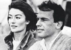 Anouk Aimée et Jean-Louis Trintignant