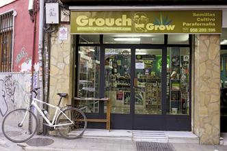 PIGNON SUR RUE En Espagne, le cannabis est interdit à la vente mais les entreprises peuvent en parler favorablement et proposer des produits alimentaires qui en contiennent.