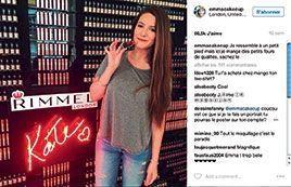 Emma Cakecup échange avec ses fans sur Instagram.