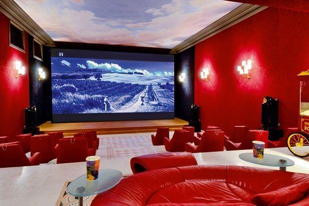 La grande salle de cinéma.