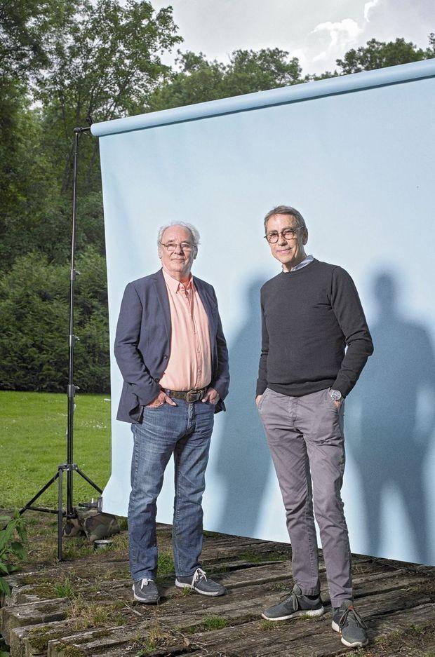 Maxime Le Forestier et Alain Chamfort.