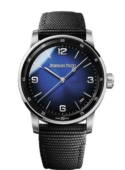 Audemars Piguet. Sa nouvelle manufacture. Et sa montre Code 11.59 or gris. Prix : 30 400 €.
