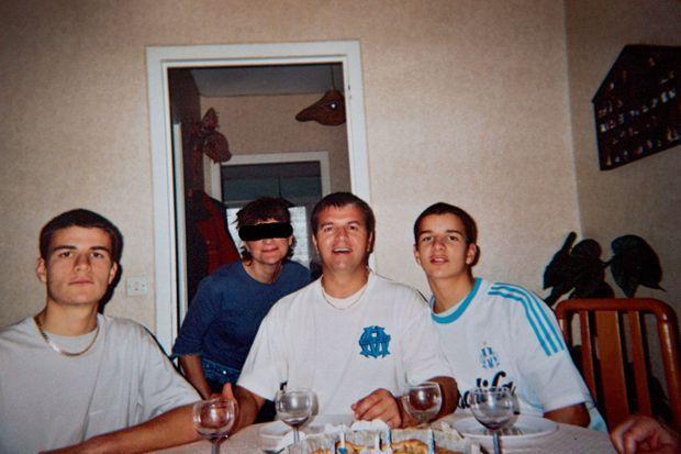 Fête de famille chez les Drugeon, en 2002.
