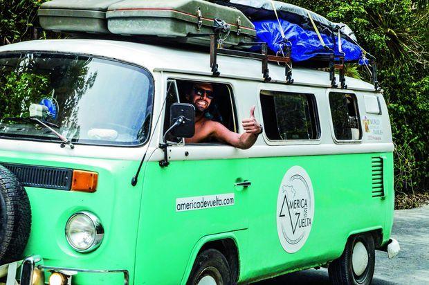 A Tulum, le Combi Volkswagen est le moyen de transport vers la béatitude.