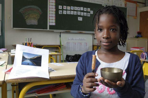 Fanta, 7 ans, championne de méditation de son école (26 séances en 2 ans).