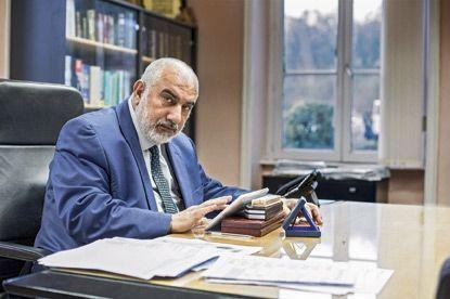 Mahmood Zuhair, fondateur et directeur de l'IESH, est irakien.