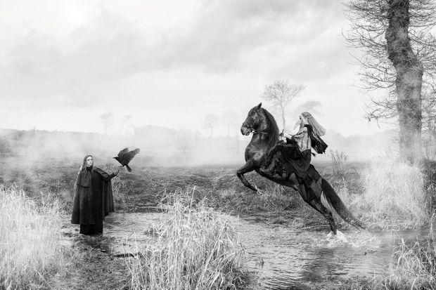 """Photo tirée de la série """"Equus""""."""