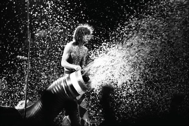 Mick Jagger à Paris en 1976